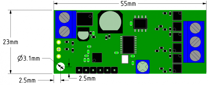 ZDBL15 BLDC Motor Controller Compact Footprint