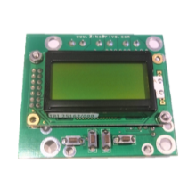 ZD10LCD 10A Stepper Motor Controller with 1/128 microstep resolution, 4 button user interface & LCD screen