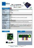 ZDSPUART-2A UART controllore motore stepper per NEMA 17 NEMA 23