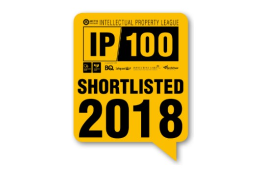 Zikodrive IP100 2018 Shortlisted