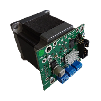 ZD10N23126 NEMA 23 Stepper Motor and Integrated ZD10 Controller